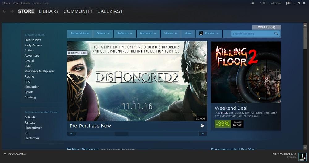 У Steam постійно є новинки – від проектів дрібних студій до великих блокбастерів