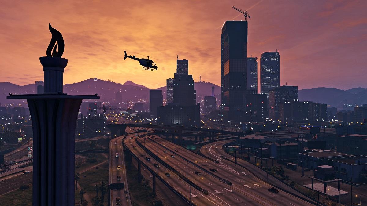 Скайдайвінг із застосуванням власного вертольота – лише одна з незліченних активностей GTA V.