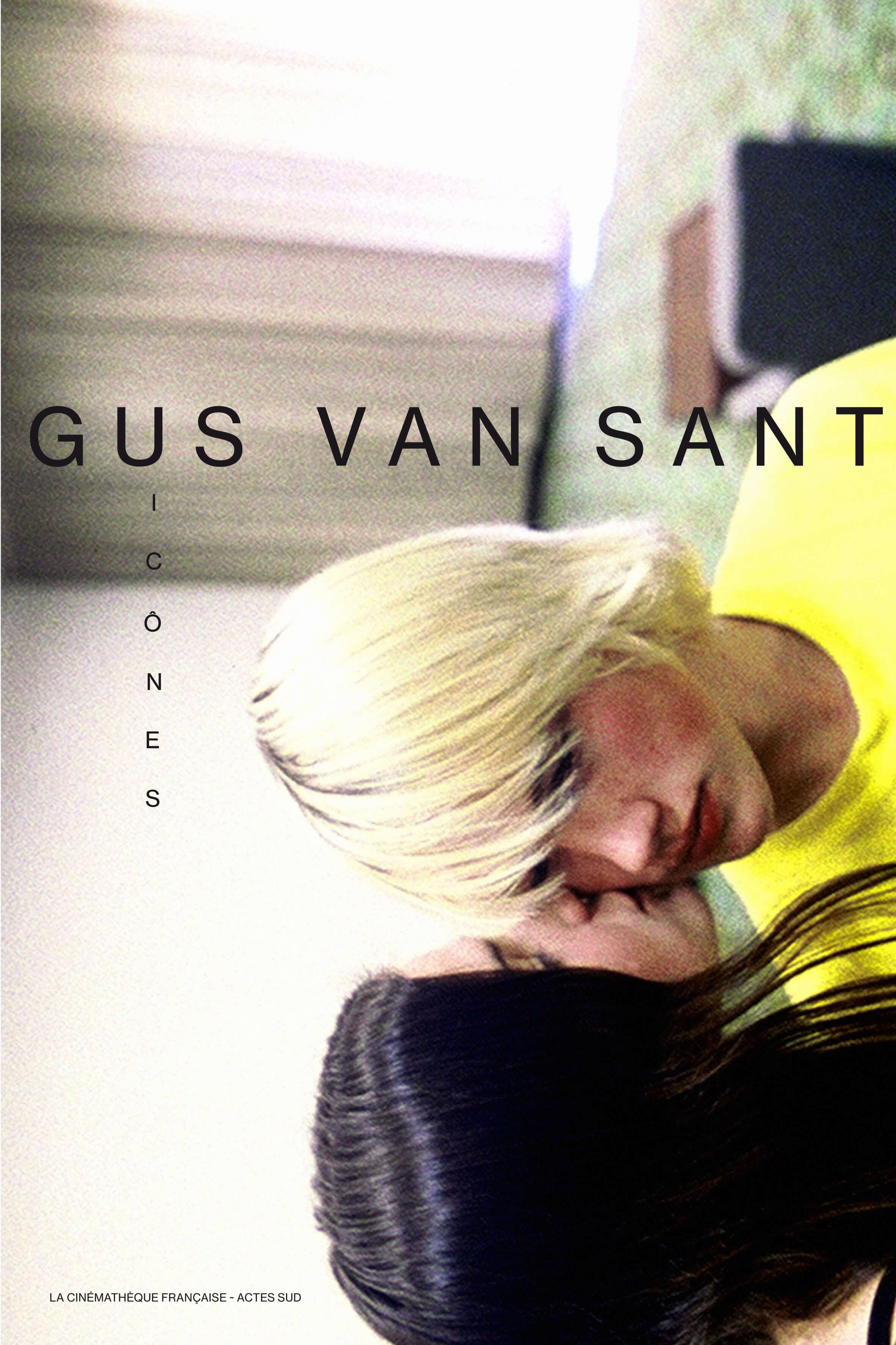 Обкладинка каталогу виставки Ґас Ван Сент. Ікони, спільне видання Cinémathèque française та Actes Sud