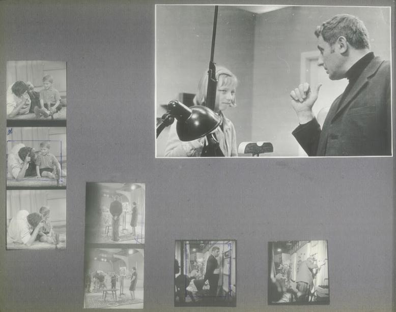 Фелікс Соболєв на зйомках фільму «Я на інші». З архіву Національного центру Олександра Довженка
