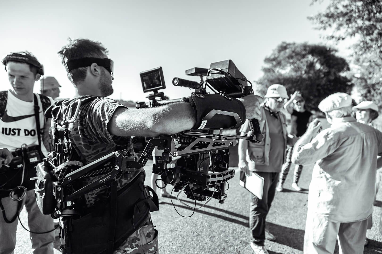Кадр зі зйомок фільму «Чунгул»