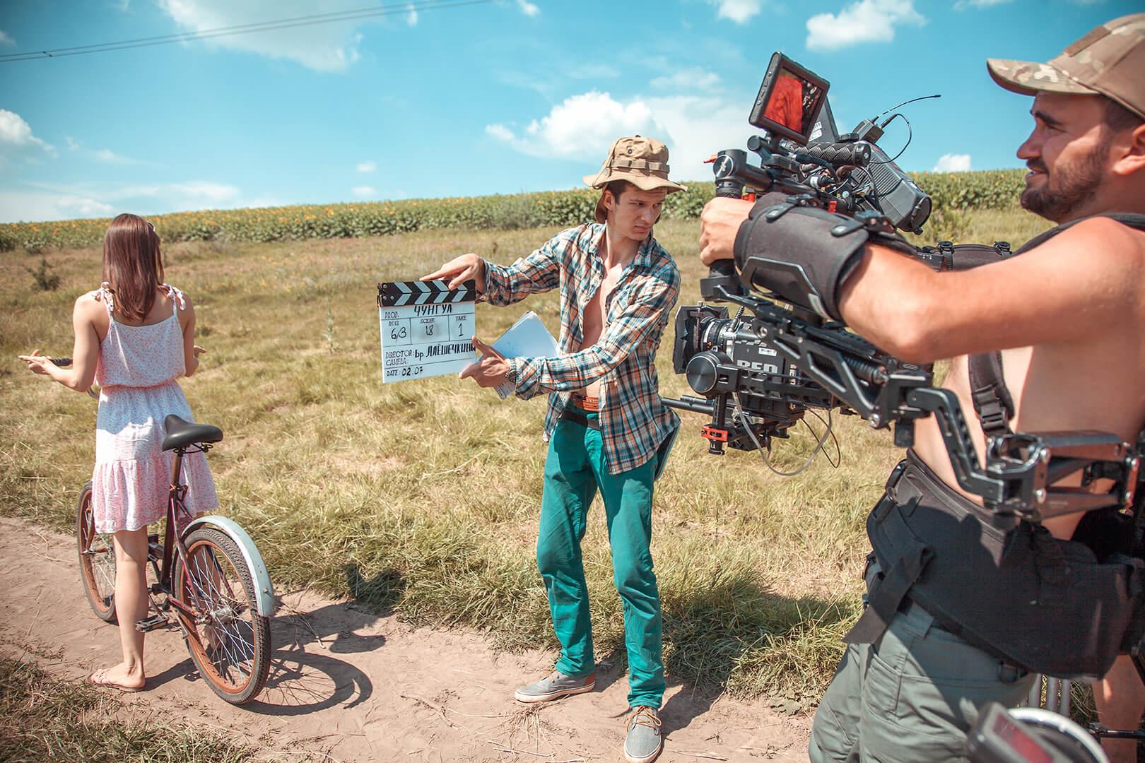 Фото зі зйомок фільму «Чунгул»