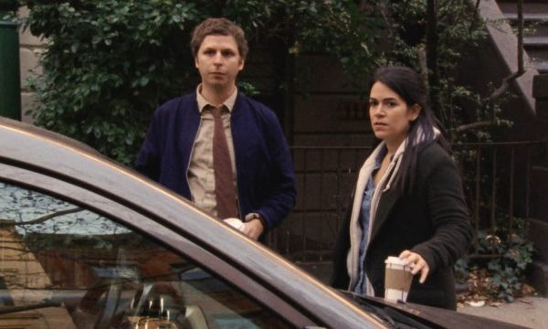 Michael Cera and Abbi Jacobson appear in Person to Person by Dustin Guy Defa, an official selection of the NEXT program at the 2017 Sundance Film Festival. Courtesy of Sundance Institute   photo by Ashley Connor.
