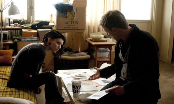 "Rooney Mara and Daniel Craig star in Columbia Pictures' ""THE GIRL WITH THE DRAGON TATTOO."""